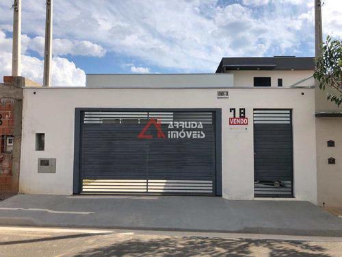 Casa Com 2 Dorms, Jardim Paulista, Itu - R$ 405 Mil, Cod: 42975 - V42975
