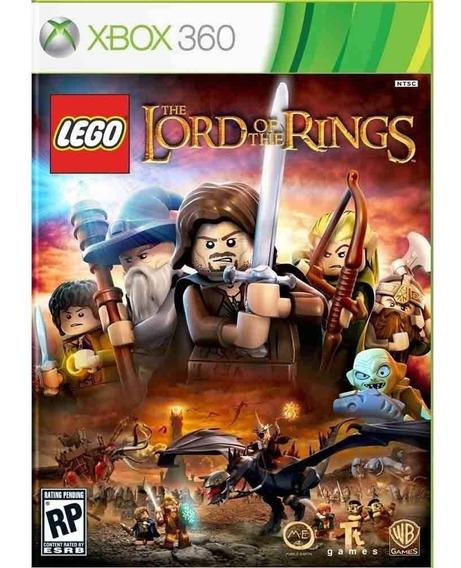 Lego O Senhor Dos Anéis Xbox 360 Mídia Física Lacrado