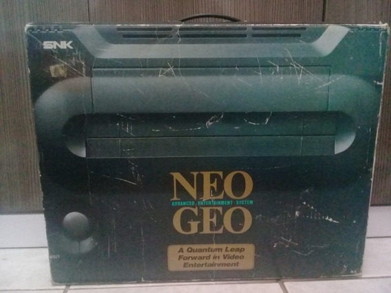 Neo Geo Aes Video Game De Cartucho Console Japonês