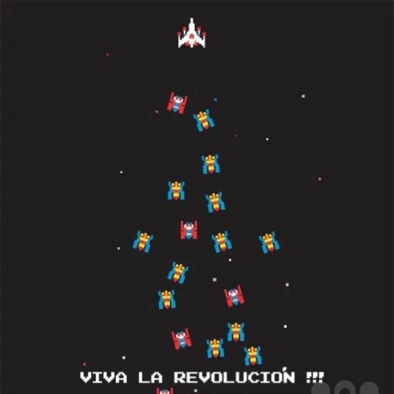Camiseta Baby Look Gola V Geek Galaga Arcade Revolution