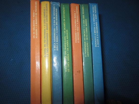 Lote 7 Livros Antigos Classicos Disney