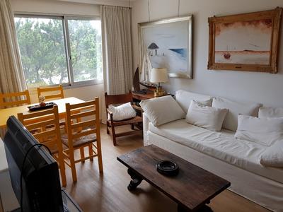 Alquilo Apartamento 1 1/2 Dormitorios En Punta Del Este