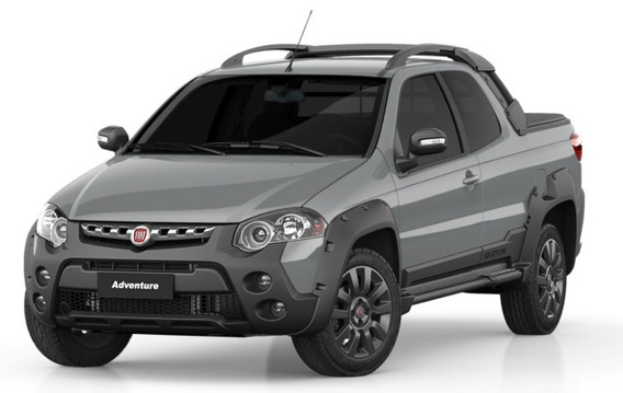Fiat Strada Adventure Cd 1.8 Flex Manual 19/20 Só 70.990