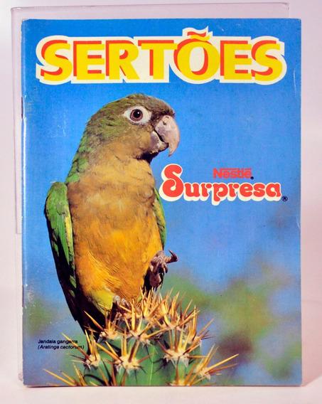 Álbum Nestlé Surpresa - Sertões - Vazio - Item 04
