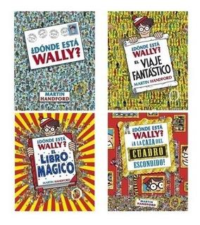 Pack ¿dónde Está Wally? (4 Libros) - Martin Handford