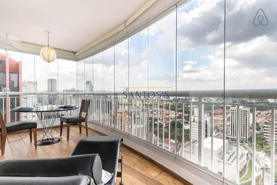 Apartamento Para Alugar, 78 M² Por R$ 5.990,00/mês - Brooklin - São Paulo/sp - Ap1761