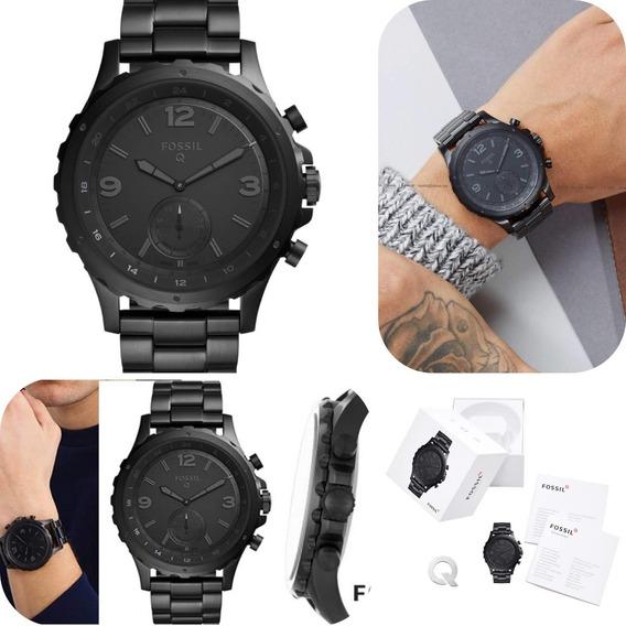 Reloj Fossil Smartwatch Hibrido Negro Hombre Deportivo Kors