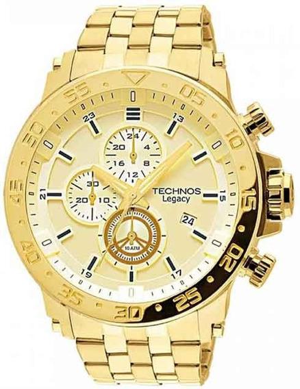 Relógio Technos Cronógrafo Classic Legacy Js15ao/4x