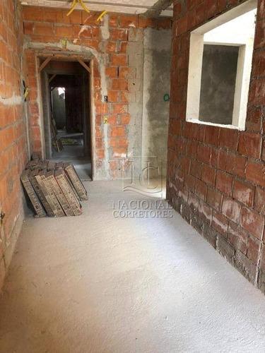 Cobertura Com 2 Dormitórios À Venda, 100 M² Por R$ 370.000,00 - Vila Metalúrgica - Santo André/sp - Co5119