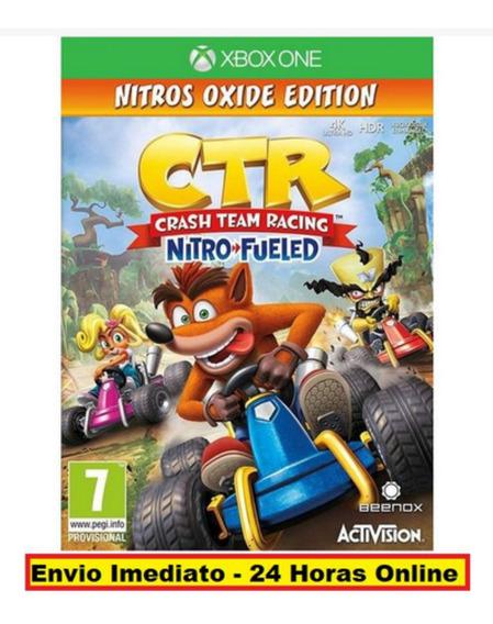 Crash Team Racing Nitro-fueled - Nitros Oxide Edition Xbox