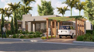 Proyecto De Casa En Residencial Brisas De Punta Cana