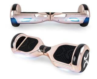 Scooter Eléctrica Hoverboard Con Luces Led De Sensor,