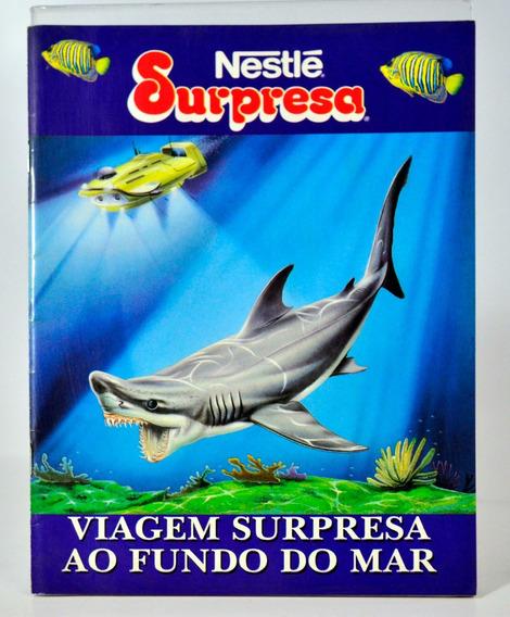 Álbum Nestlé Surpresa - Viagem Ao Fundo Do Mar - Vazio