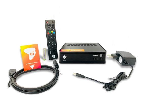 Receptor Oi Tv Livre Hd Etrs 40 + Habilitação Grátis Promoçã
