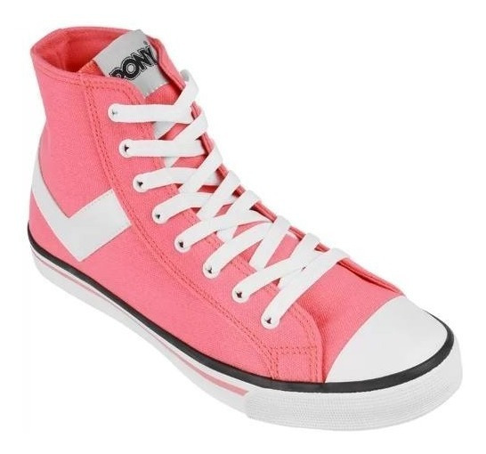 Botitas Pony Shooter Canvas Hi