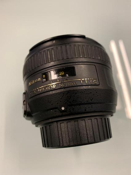 Lente Nikon Af-s Nikkor 50mm F/1.4g Autofoco