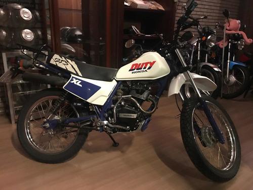 Honda Xl 125 Duty 1987/8 Garagem Retrô