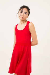 Vestido Halsman Rojo Las Pepas