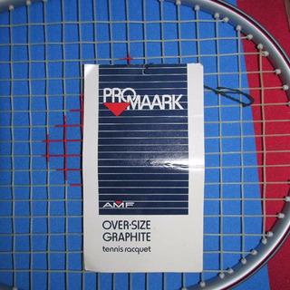 Vintage Raquete De Tênis Amf Over-size Graphite Nunca Usada