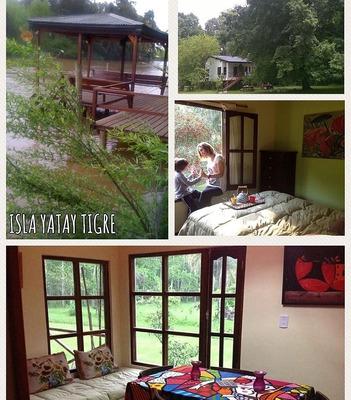 Cabañas Delta Tigre Yatay 10 Hta. Parque, Parrilla, Remo