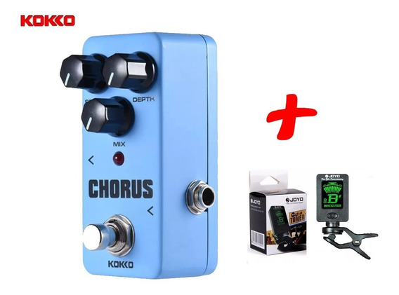 Efeito Para Guitarra Kokko Mini Pedal Fch2 Chorus + Brinde