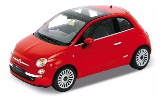 Auto Welly Fiat 500 Colección Escala 1:36