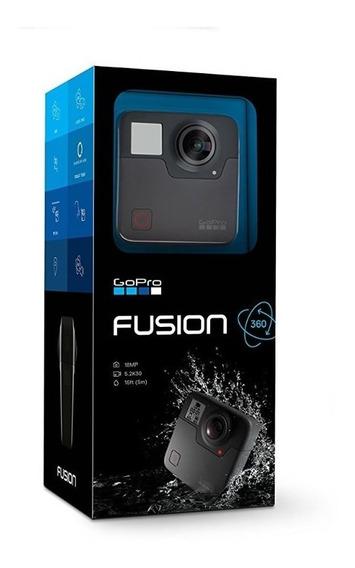 Câmera Gopro Fusion 360° Novíssima, Com 2 Cartões Sd De 64gb