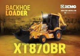 Retroexcavadora Xcmg Xt870br Nueva Sin Uso ( Fab. Brasil)