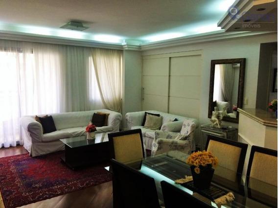 Excelente Apartamento Com 2 Dormitórios À Venda, 120 M² Por R$ 1.350.000 - Indianópolis - São Paulo/sp - Ap5901