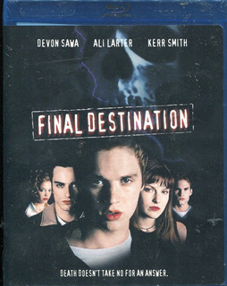 Final Destination (destino Final) Pelicula En Blu-ray