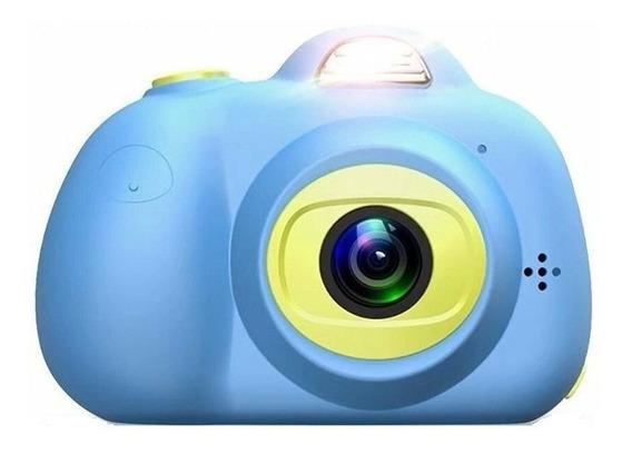 Câmera Digital Fotografica Infantil Efeito Animação C/ Flash