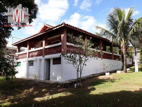 Imagem 1 de 30 de Excelente Chácara Com Escritura, 03 Dormitórios, Pomar, Ótimo Bairro À Venda, 1172 M² Por R$ 320.000 - Zona Rural - Pinhalzinho/sp - Ch0139