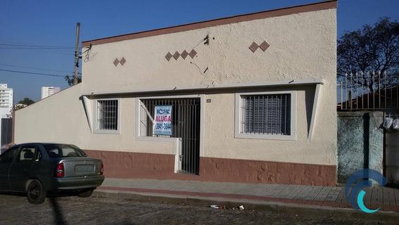 Casa Residencial Para Locação, Centro, São José Dos Campos. - Ca0363