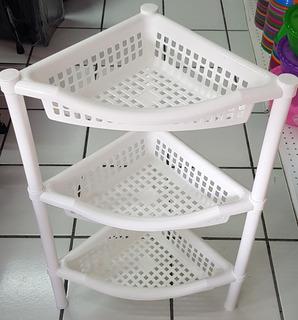 Mueble - Organizador- Esquinero Para Baño