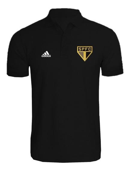 Camisa Polo São Paulo Spfc Personalizado
