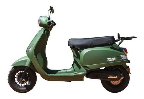 Moto Electrica Elpra Twist Vintage Vespa 18 Ctas De $10688