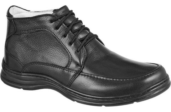 Sapato Masculino Confortável Macio Couro Bmbrasil 2713/01
