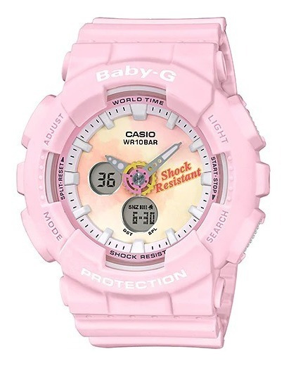 Reloj Casio Outlet Baby-g Life And Style Ba-120tg-4acr