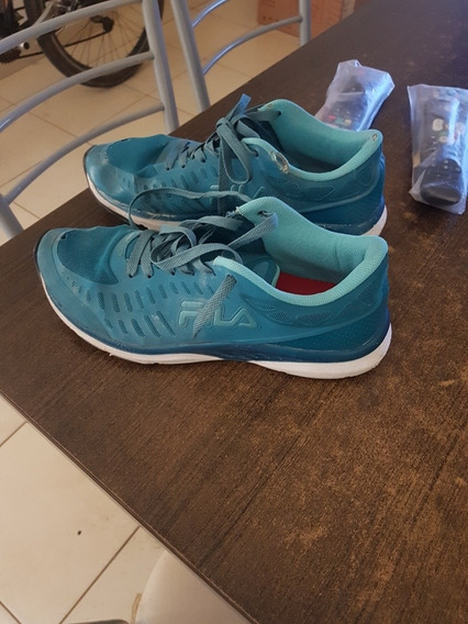 Zapatillas Fila Color Turquesa