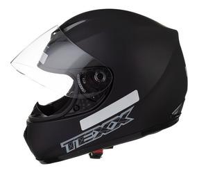 Capacete Moto Texx Toro Rosso Ls2 Norisk Shark Agv Preto