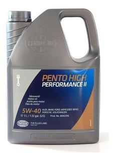 Aceite Motor 100% Sintetico Aleman 5w-40 Pentosin 5 Lts