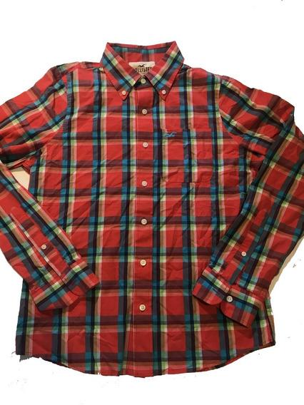 Camisa Social Hollister Importada Original - Nova Sku008 09