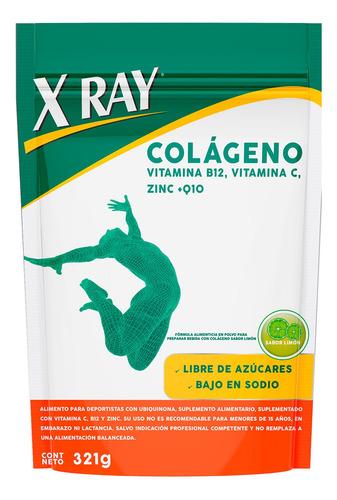 X Ray Colágeno Doypack Polvo 321g Sabor Limón