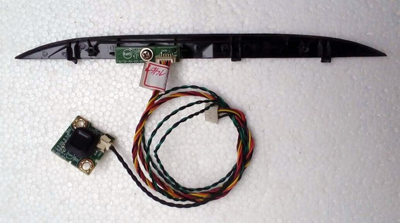 Botão Power (joystick) + Sensor Ir Tv Aoc Le32h1461