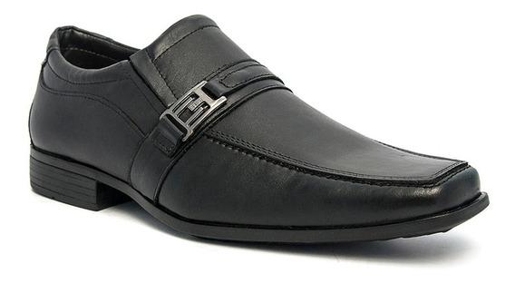 Sapato Social Masculino Pé De Ferro Em Couro Legítimo 2070