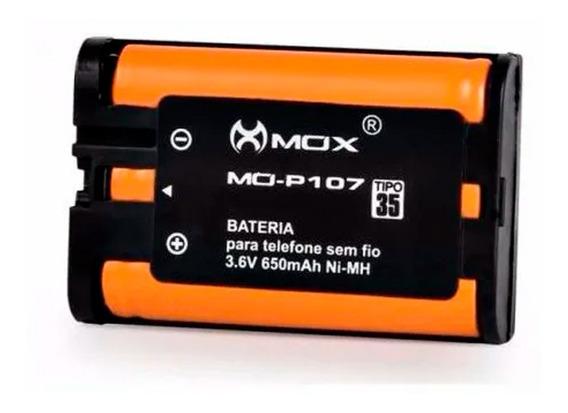 Bateria P/ Telefone Sem Fio Panasonic P107 3,6v 650mah