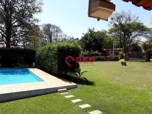 Chácara Com 1 Dormitório À Venda, 1243 M² Por R$ 850.000,00 - Parque Xangrilá - Campinas/sp - Ch0019