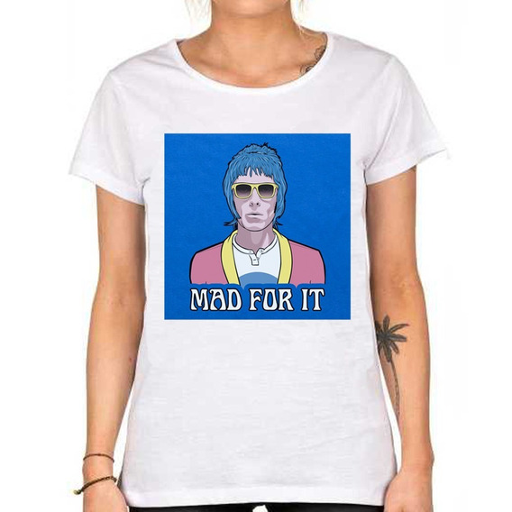 Remera Liam Gallagher Mad For It Oasis Frontman William John