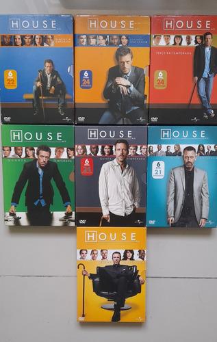 House 1ª A 7ª Temporadas - Box Com 40 Dvds - Hugh Laurie!!!