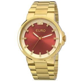 Relógio De Pulso Feminino Euro Eu2035yee-4r Dourado